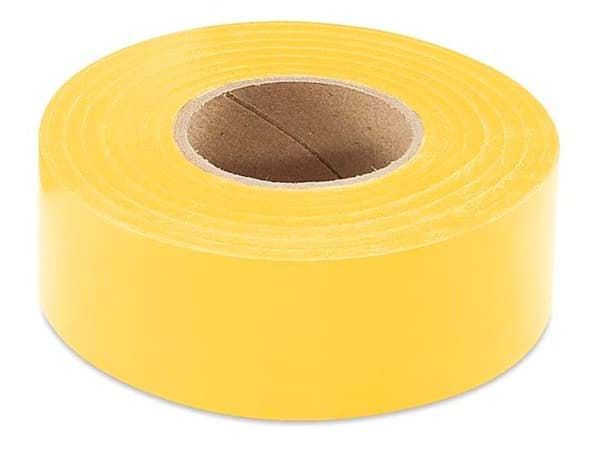 "Picture of Flagging Tape 1-3/16"" x 300' – Yellow"