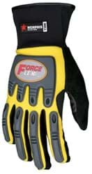 Picture of Glove MCR ForceFlex Top Yellow Palm Synthetic Leather Wrist Slip-On - XL