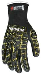 Picture of Glove MCR Predator Top Yellow Palm Nitrile Padded Wrist Slip-On - L
