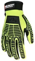 Picture of Glove MCR UltraTech Top Lime Palm Silicone Wrist Adjustable - L