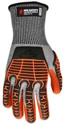 Picture of Glove MCR UltraTech Top Salt and Pepper Palm Nitrile Wrist Adjustable - L
