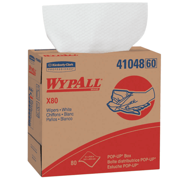 Picture of Shop Towel X80 Box Sheet 80 Wypall – White