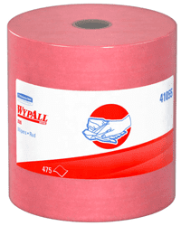 Picture of Shop Towel X80 Roll Sheet 475 Wypall – Red