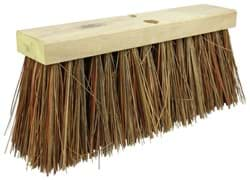 "Picture of 16"" Street Broom, 6-1/4"" Trim Length, Bass & Palmyra Blend Fill"