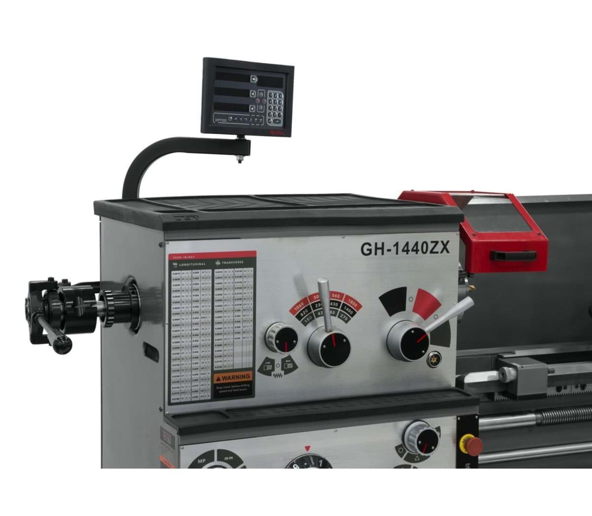 Ropesoapndope Gh 1440zx Lathe With Newall Dp700l Dro And
