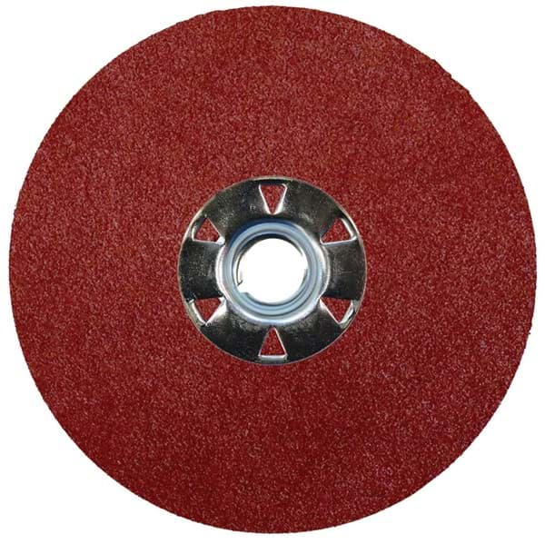 "Picture of 4-1/2"" Wolverine AO Resin Fiber Disc 120AO Grit 5/8-11 UNC"