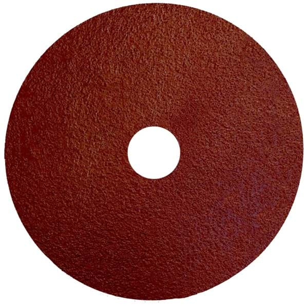 "Picture of 5"" Tiger Aluminum Resin Fiber Disc 60 Grit 7/8 Arbor Hole"