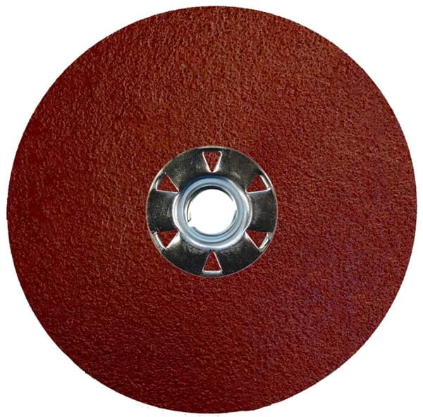 Picture of 5 Tiger Aluminum Resin Fiber Disc 80 Grit 5/8-11 UNC