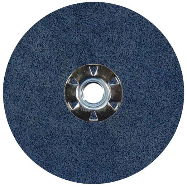 "Picture of 5"" Wolverine Zirc Resin Fiber Disc 60Z Grit 5/8-11 UNC"