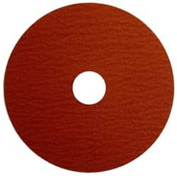 "Picture of 4-1/2"" Tiger Ceramic Resin Fiber Disc 60C Grit 7/8 Arbor Hole"