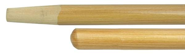 "Picture of 11"" Hardwood Handle, Tapered Wood Tip, 3/4"" Diameter"