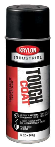 Picture of Paint Aerosol Tough Coat Krylon - Black Semi-Flat