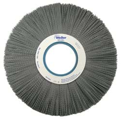 "Picture of 12"" Crimped Filament Nylox Wheel, .035/180SC Fill, 4-1/4"" Arbor Hole"
