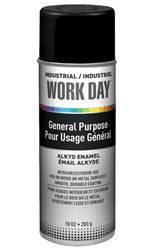 Picture of Paint Aerosol Workday – Black Flat