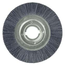 "Picture of Burr-Rx 10"" Crimped Filament Wheel Brush, .055/80CG Fill, 2"" Arbor Hole"