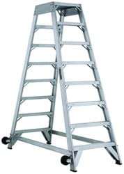 Picture of 10 ft Louisville AM8010 Aluminum Aircraft Mechanic Ladder, Type IA, 300 lb Load Capacity