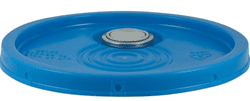Picture of Bucket Plastic Gallon 5 Lid - Blue