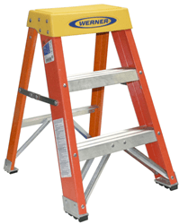Picture of Ladder Step Fiberglass Werner - 2' (300lb)