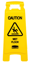 "Picture of Sign ""Wet Floor"" Rubbermaid"