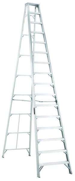 Picture of 18 ft Louisville AS1016 Aluminum Step Ladder, Type IA, 300 lb Load Capacity