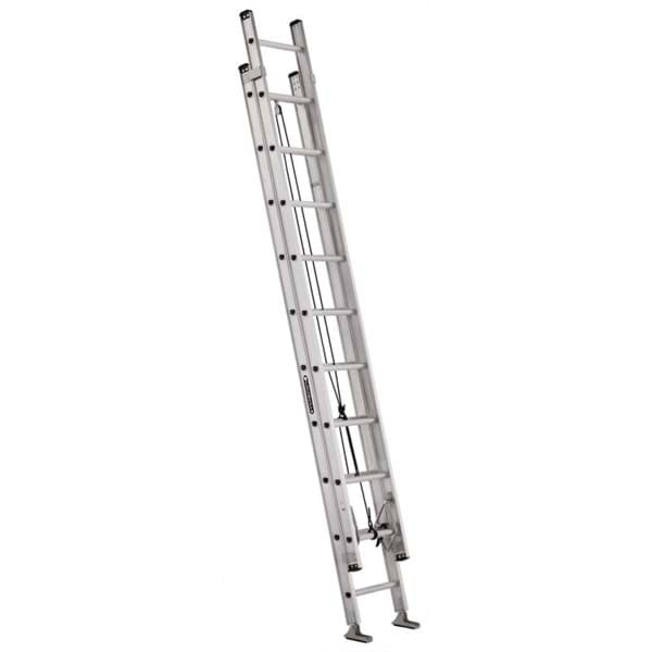 Picture of 20 ft Louisville AE2820 Aluminum Extension Ladder, Type IA, 300 lb Load Capacity