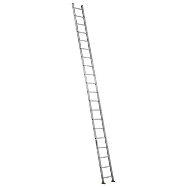 Picture of 20 ft Louisville AE4120 Aluminum Single Ladder, Type II, 225 lb Load Capacity