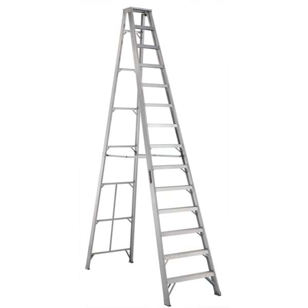 Picture of 20 ft Louisville AS1020 Aluminum Step Ladder, Type IA, 300 lb Load Capacity