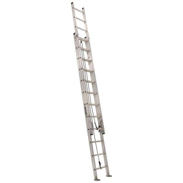 Picture of 24 ft Louisville AE2824 Aluminum Extension Ladder, Type IA, 300 lb Load Capacity