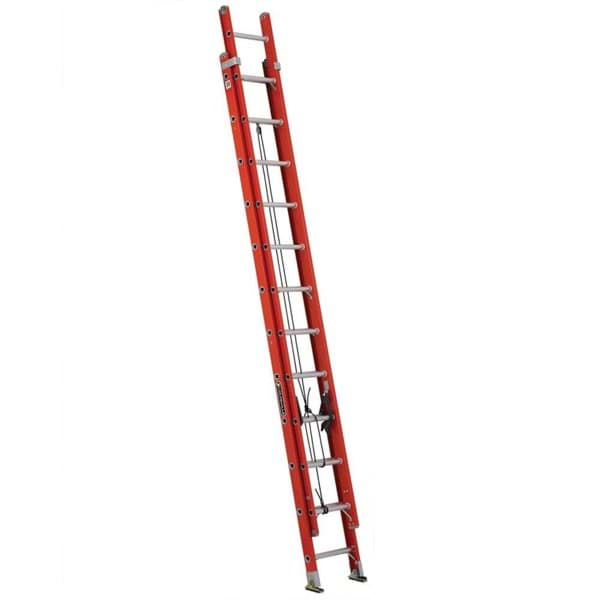 Picture of 24 ft Louisville FE3224 Fiberglass Extension Ladder, Type IA, 300 lb Load Capacity