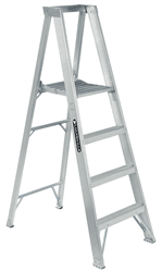 Picture of 3 ft Louisville AP1003 Aluminum Platform Step Ladder, Type IA, 300 lb Load Capacity