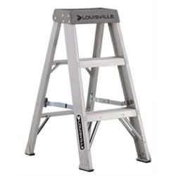 Picture of 3 ft Louisville AS1003 Aluminum Step Ladder, Type IA, 300 lb Load Capacity, w/PS