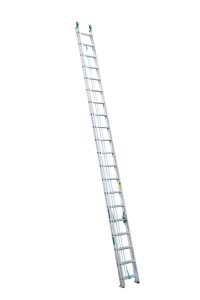Picture of 36 ft Louisville AE4236PG Aluminum Extension Ladder, Type II, 225 lb Load Capacity