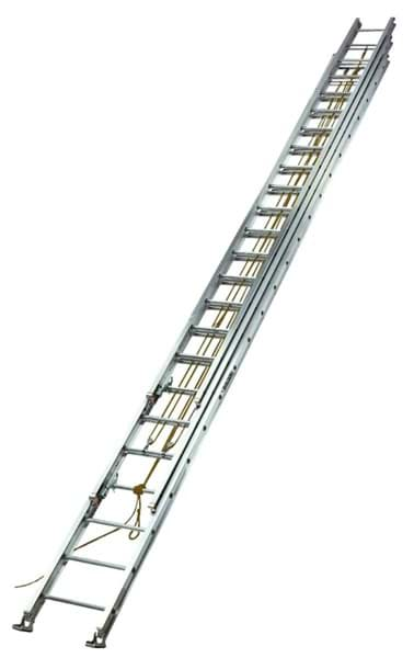 Picture of 60 ft Louisville AE1660 Aluminum Extension Ladder, Type I, 250 lb Load Capacity
