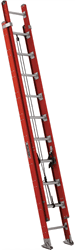Picture of 16 ft Louisville FE7616 Fiberglass Extension Ladder, Type IA, 300 lb Load Capacity, w/ WPG