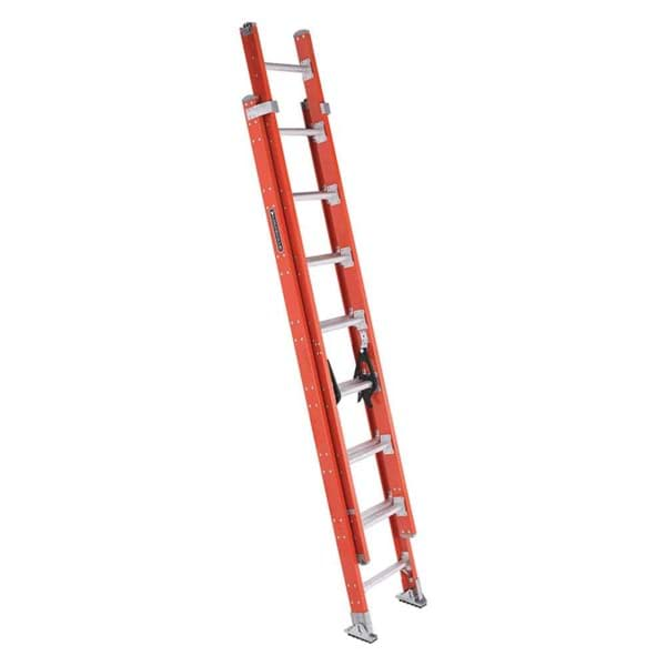 Picture of 16 ft Louisville FE7216 Fiberglass Extension Ladder, Type IA, 300 lb Load Capacity, w/ RPG
