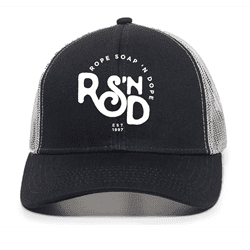 Picture of RSND Snapback Hat - Navy/White