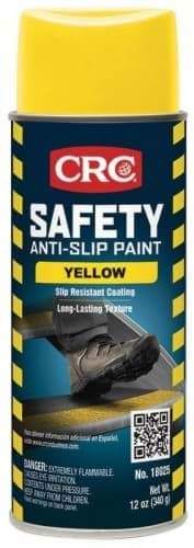Picture of Safety Anti-Slip Paint, Yellow, 12 Wt Oz
