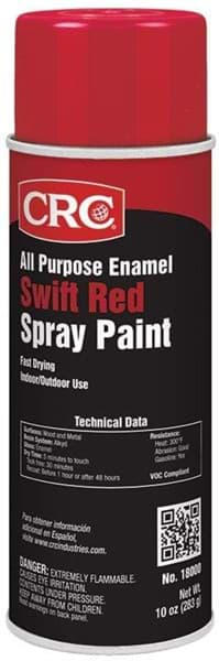 Picture of All Purpose Enamel Spray Paint-Swift Red, 10 Wt Oz