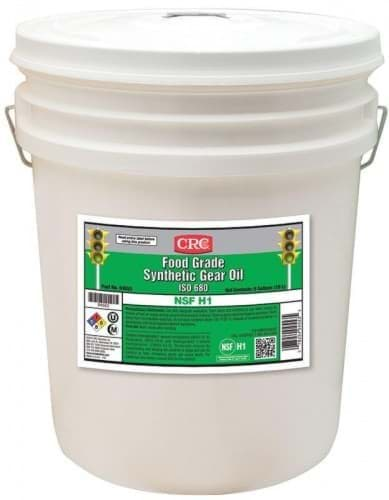 Picture of Food Grade Synthetic Gear Oil ISO 680, 5 Gal