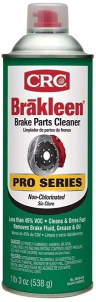Picture of Brakleen Pro Series Brake Parts Cleaner - Non-Chlorinated Low VOC, 19 Wt Oz