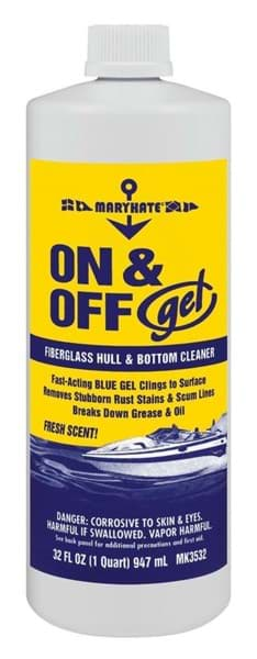 Picture of On & Off Gel Hull & Bottom Cleaner, 32 Fl Oz