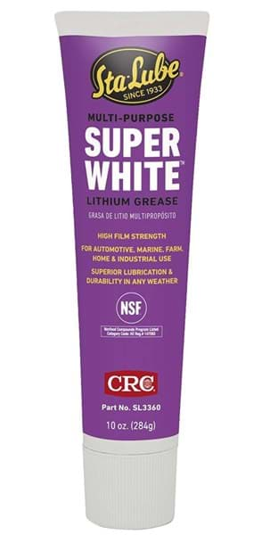 Picture of Super White Multi-Purpose Lithium Grease, 10 Wt Oz