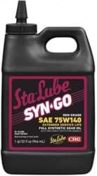 Picture of Syn-Go  OEM Grade/Extended Interval, Synthetic Gear Oil 75W140, 32 Fl Oz