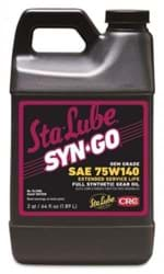 Picture of Syn-Go  OEM Grade/Extended Interval, Synthetic Gear Oil 75W140, 64 Fl Oz
