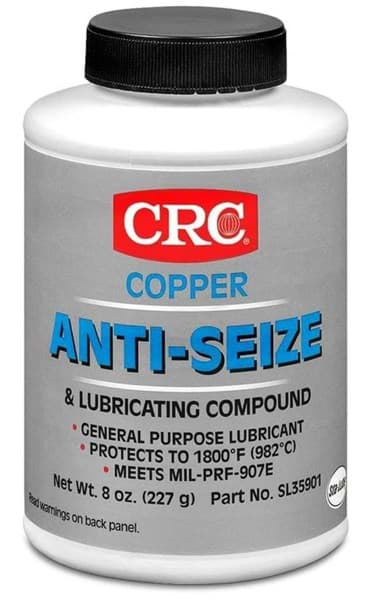 Picture of Copper Anti-Seize & Lubricating Compound, 8 Wt Oz