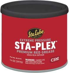Picture of Sta-Plex Extreme Pressure Premium Red Grease, 14 Wt Oz