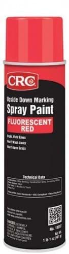 Picture of Upside Down Marking Paints-Red Fluorescent, 17 Wt Oz