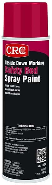 Picture of Upside Down Marking Paints-Safety Red, 17 Wt Oz