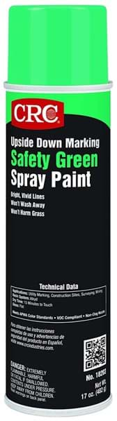 Picture of Upside Down Marking Paints-Safety Green, 17 Wt Oz