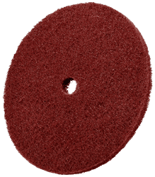 "Picture of Buff & Blend Wheel w/ Hole 1ply Standard - 3""hp"
